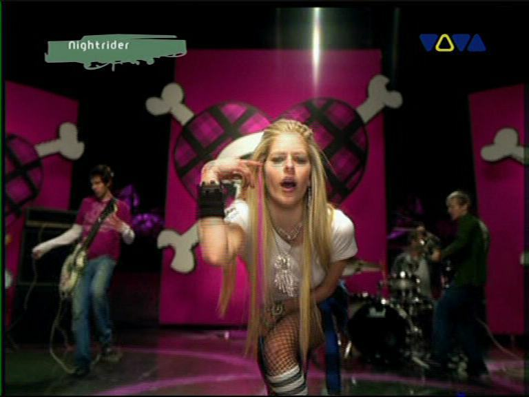 video avril lavigne: