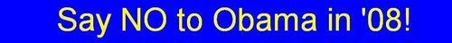 NO to Obama!