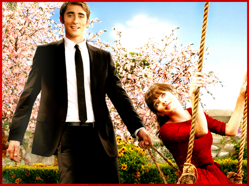 Pushing Daisies wallpaper with a business suit titled Ned & Chuck