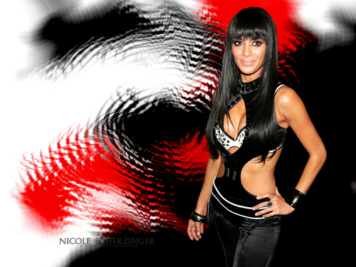 nicole scherzinger fondo de pantalla possibly with a leotard, a legging, and a traje de baño entitled Nicole Scherzinger