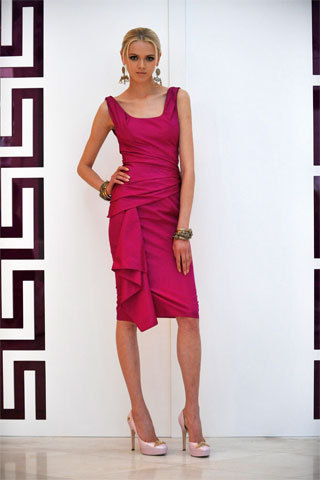 Resort 2009 - versace Photo