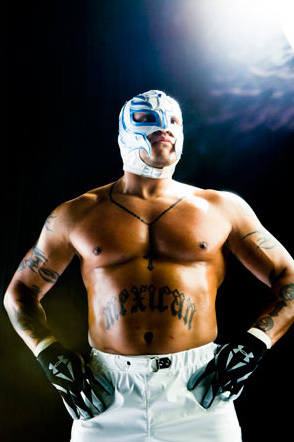 Professional Wrestling wallpaper possibly containing a six pack entitled Rey Mysterio