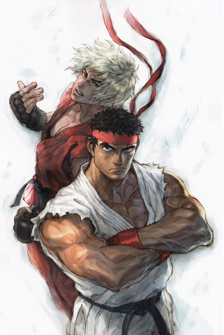 Ryu and Ken - street-fighter Photo