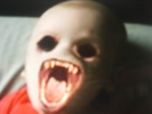 Horror world scary baby