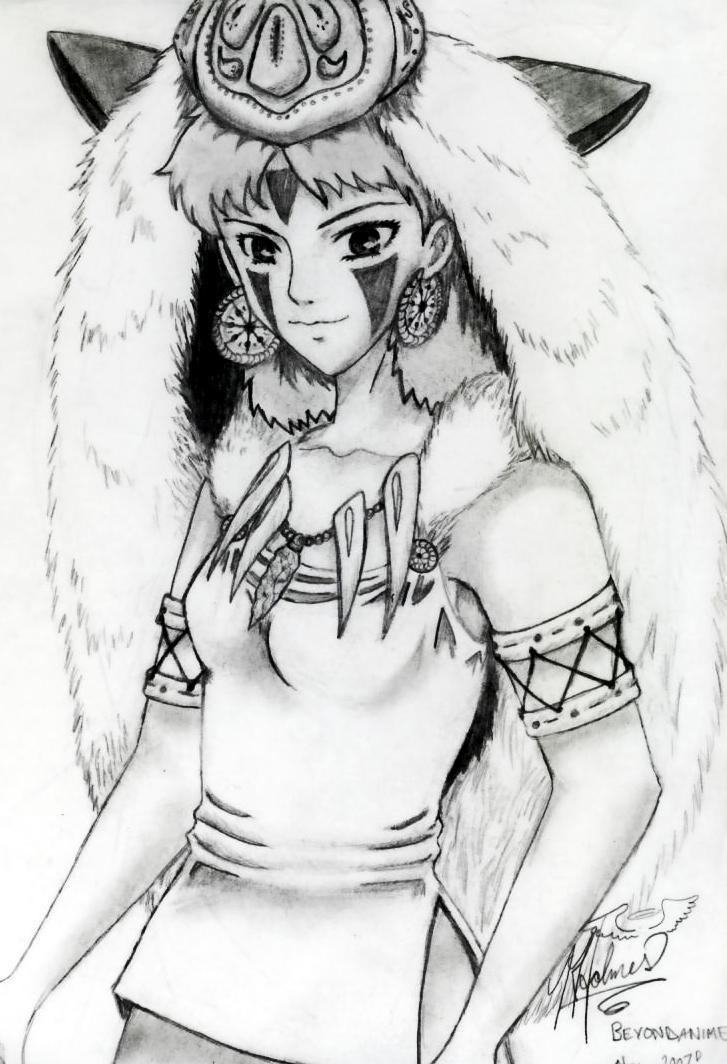 San A Little Older Princess Mononoke 사진 1521829 팬팝