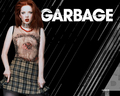 Shirley - garbage wallpaper