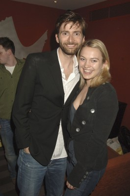 Sophia Myles and David Tennant