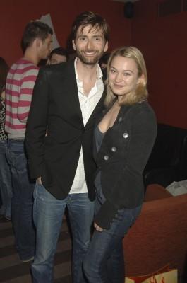 Actresses Sophia Myles and David Tennant