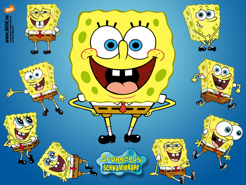 Spongebob Squarepants wallpaper probably containing anime entitled Spongebob