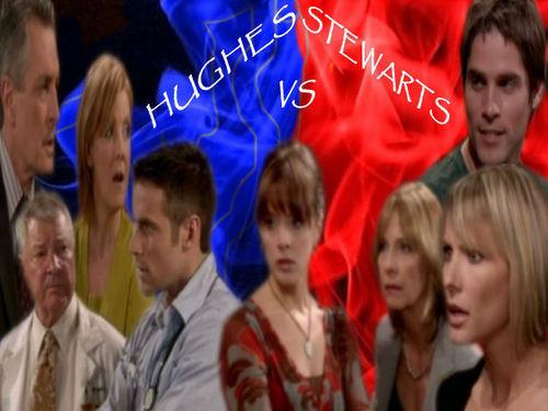 Stewarts vs Hughes