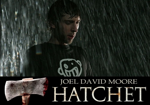 Horror films achtergrond with a cleaver, a hatchet, and a tomahawk entitled THE MOVIE ENDING IS SAD :(