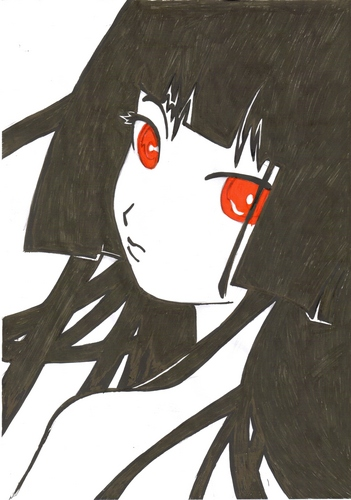 doodles and drawings پیپر وال entitled TO HELLGIRL223