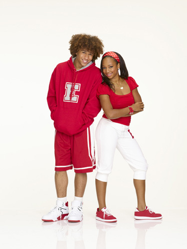Taylor and chad with the wildcats style