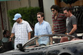 The Cast of Entourage Film outside Urth Caffe in Hollywood 06.16.08 - entourage photo