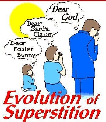 The Evolution of Superstition