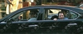 The cast of Entourage Goof Around in Car while Filming June 18, 2008 - entourage photo