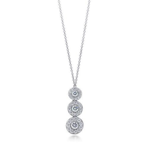Tiffany Circlet Triple drop pendant