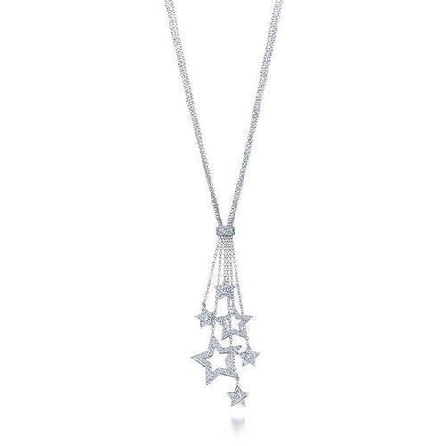 Tiffany Stars Multi-drop pendant