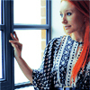 Tori Amos photo possibly with a holding cell, a window seat, and a portrait entitled Tori