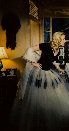 Scarlett Johansson wallpaper possibly containing a hoopskirt titled Vanity Fair: March 2008