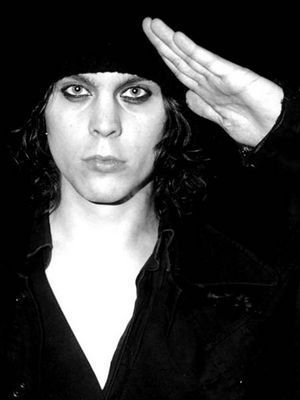 Ville Valo wallpaper probably containing a hood, a box coat, and an outerwear titled Ville Valo