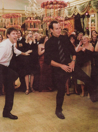 Will Arnett and John Krasinski Dancing!