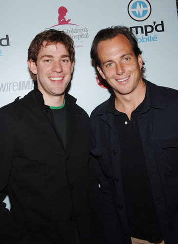 Will Arnett and John Krasinski