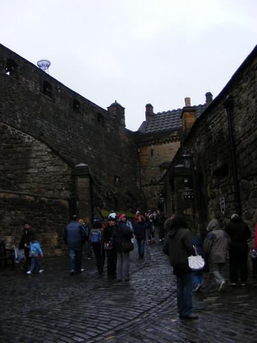 edinburgh गढ़, महल