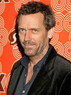 Dr. Gregory House karatasi la kupamba ukuta possibly with a business suit and a suit titled hugh laurie