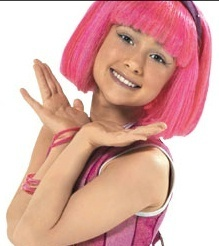 lazy town wallpaper possibly containing a portrait titled stephanie