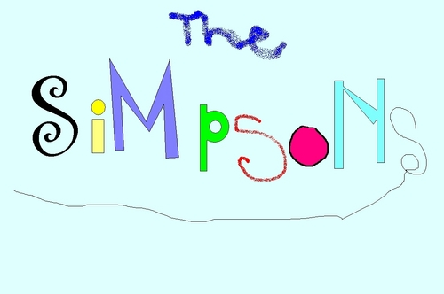 The Simpsons پیپر وال entitled the simpsons