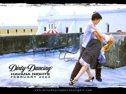 Dirty Dancing - Havana Nights wallpaper with a sign called wallpaper