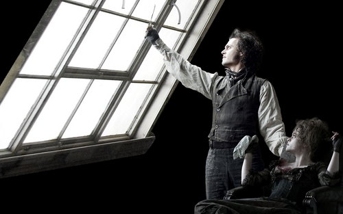 Sweeney Todd wallpaper containing a holding cell, a cell, and a penal institution called wallpaper