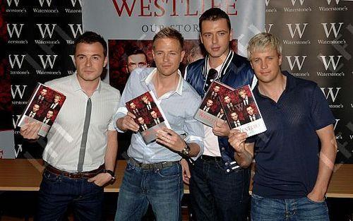 westlife book signing