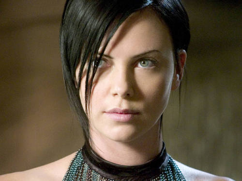 Charlize Theron wallpaper probably containing a portrait titled Æon flux