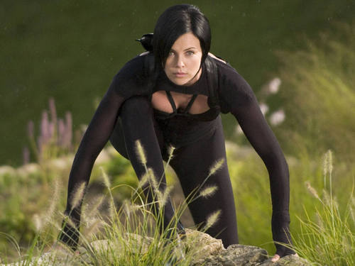 Charlize Theron images Æon flux HD wallpaper and background photos