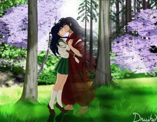 A transcending kiss