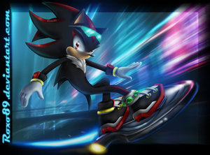 Shadow The Hedgehog kertas dinding called AURORA