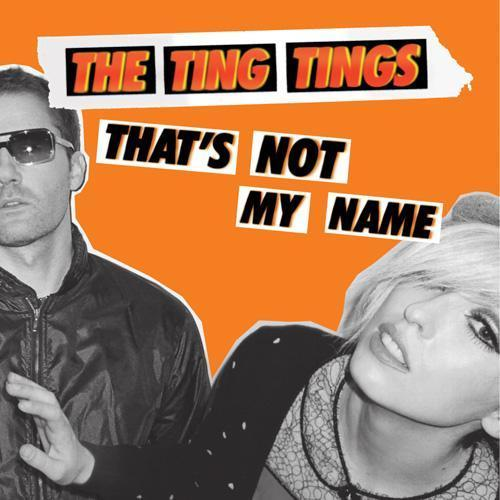 the ting tings Hintergrund with Anime called Album Art