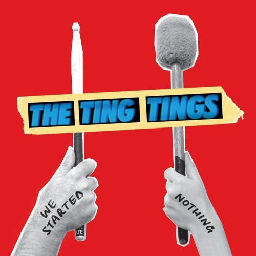 the ting tings Hintergrund entitled Album Art