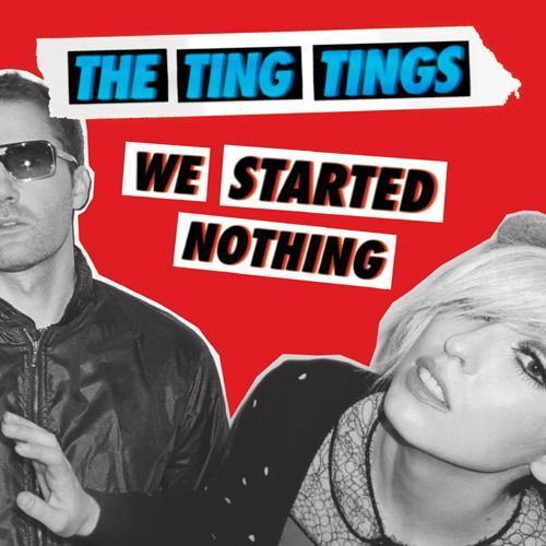 the ting tings Hintergrund possibly with Anime called Album Art