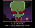 Alignmemt - invader-zim fan art
