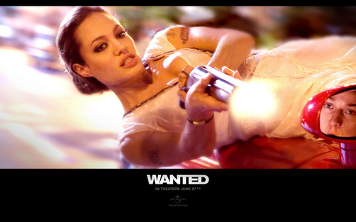 Angelina Jolie - Fox - wanted Wallpaper