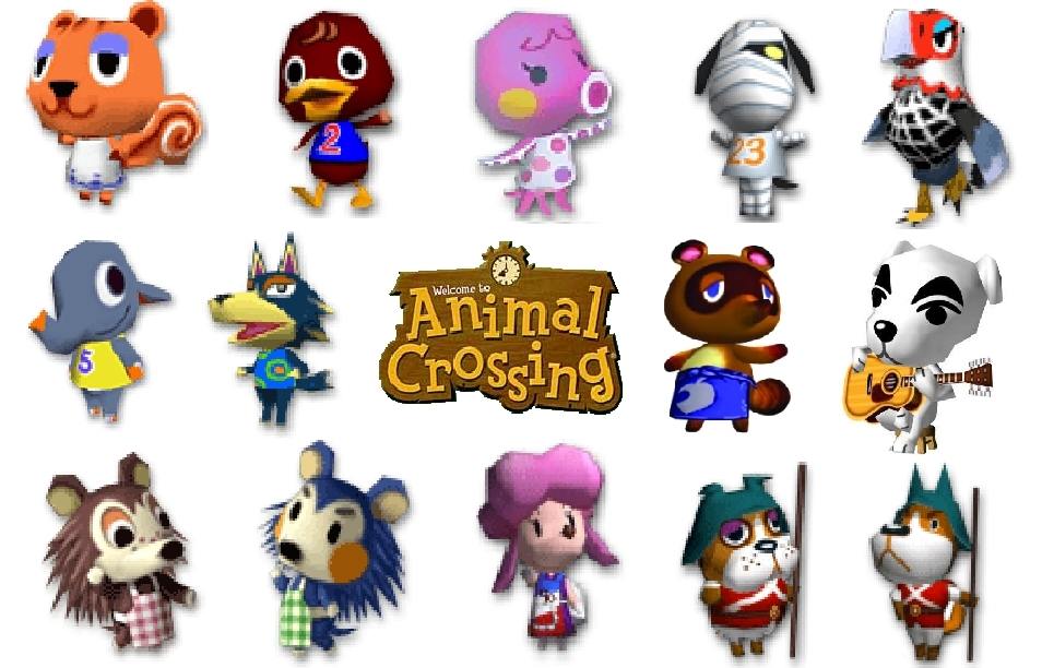 Animal Crossing City Folk Boy Hairstyles Animal Crossing