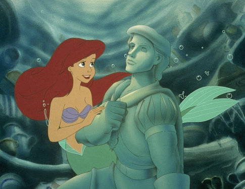Ariel and Eric's Statue