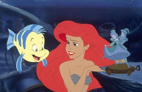 Ariel and Flounder - Little Mermaid: Ariel's Beginning 485x315