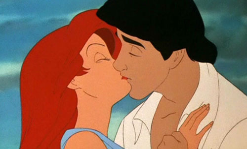 Ariel's kiss with Eric - little-mermaid-ariels-beginning Photo