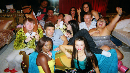 Big Brother UK wallpaper with a hot tub entitled BB9 group photo