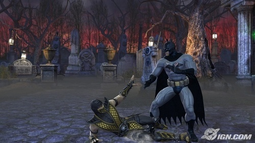 Batman beating schorpioen, scorpion