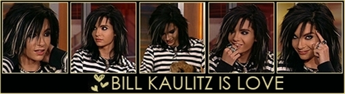 Bill Kaulitz fond d'écran entitled Bill